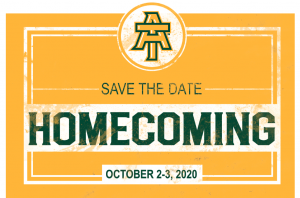 Homecoming 2020 Save Date